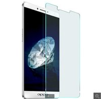 Wholesale Oppo Find5 - 0.26mm Tempered Glass for OPPO fiand7 N1 Find5 N3 R5 R1001 JOY R827T R829 R829T R831S  Screen Protector Film 500pcs