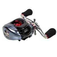 Wholesale Trulinoya Reels - Trulinoya DW1000 10 plus 1 BB Left Right Hand Fishing Bait Casting Reel with One Way Clutch Magnetic Brake Wheel Wholesale 2529006