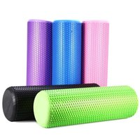 Wholesale Colors Yoga Roller Lightweight EVA Floating Point Yoga Foam Roller for Fitness Home Gym Pilates Physiotherapy Massage