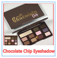 Wholesale Hot Chips - HOT New Chocolate Chip Eye Shadow 11 colors Makeup Professional eyeshadow Palette Makeup eyeshadow Free shipping