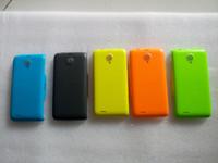 bateria de volta para celular venda por atacado-Original voltar case capa para philips xenium w6500 habitação telefone celular tampa da bateria do celular frete grátis