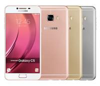 Wholesale android mp camera resale online - Refurbished Original Samsung Galaxy C5 C5000 Unlocked Cell Phone Octa Core GB GB Inch MP FingerPrint