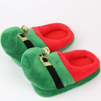 Wholesale Male Suite - Christmas Parent-Child Suite Home Cotton Slippers Fashion Leisure Accessories Male Female Adults children Unisex Funny Slippers