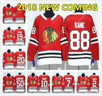 Wholesale Hawk Jerseys - 2018 NEW BRAND Chicago Black Hawks Ice Hockey Jerseys Men Stitched SAAD KANE Hossa Hull Toews Keith Seabrook SHARP CRAWFORD