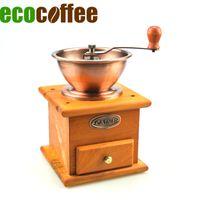 eco kaffeemühle großhandel-Mühle Handbuch Eco Coffee BM-93 Classic Manuelle Kaffeemühle Metall Gratmühle für Kaffeebohne