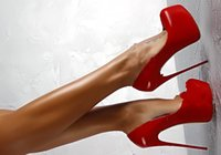 Wholesale women 16cm heels for sale - Group buy Red Black Slip on Dress Wedding Party Shoes High Platform CM High heels T Show Party Shoes Feminino