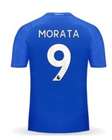 Wholesale S M Wear - Discount Cheap 17-18 Home blue Thai Quality Soccer Jerseys,Customized Name Number 9 Morata 10 Hazard 4 Fàbregas 30 David Luiz football Wear
