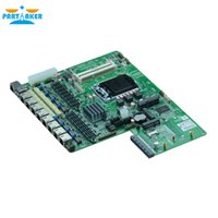 Wholesale 8 Ethernet ports Firewall Industrial Embedded Netwok Router Motherboard H87SL_B for Support LGA1150 With bypass VGA USB