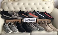 Mesh oxford shoes leather - 350 V2 Sply Boost Running Shoes Colors Size Beluga Black White Red Copper Moonrock Pirate black oxford tan turtle dove