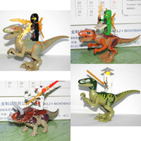 Wholesale Ninjago Action Figures - 4styles Building Action Figures Dinosaurs Toys Bricks Ninjago Fangpyre 15cm #01