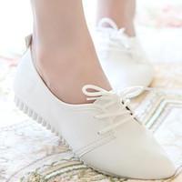 ingrosso pattini infantili in pelle nera-2016 nuovo kanye west stile bianco nero scarpe basse donne lace up scarpe di cuoio di alta qualità infermiera primavera autunno moda usura