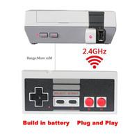 controlador de botón inalámbrico al por mayor-Gamepad USB inalámbrico Plug and Play Gamepad para Nintendo para NES Mini Buttons Edición clásica con receptor Wrireless