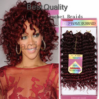 3packs Kanekalon Jumbo Braid cheveux tresses au crochet havana mambo 10 pouces Synthétique Brading Extension de cheveux Kanekalon ombre deux ton crochet crochet