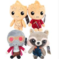 Wholesale Guardian Kids - 12pcs New Guardians of the Galaxy 2 Plush Dolls Plush Toys Stuffed Kids Toys Christmas Gift for Kids