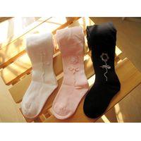 Wholesale Socks Tutu - 70Pcs lot Baby Girls Pantyhose Children Ballet Pant Solid Kids Boots Pants Pantynose Leg Warmers Girl Legging Dance Trouser Sock