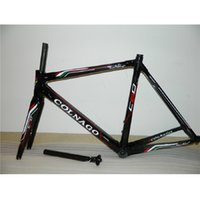 Wholesale Chinese Road Bicycles - Hot Colnago C60 Chinese Carbon fiber road bicycle frame,super light T800 Carbon road bike Frame customized paint aero 3K UD more colors
