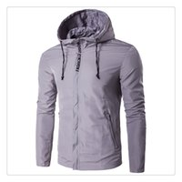 Wholesale Waterproof Winter Jackets For Men - Jackets for Men Autumn&winter Fashion Big Size Waterproof and Sun Proof Men's Casual Sports Hooded Jackets US Size:XS-3XL