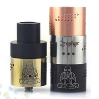 Wholesale 36 Holes - Newest Zephyr Buddha 26650 RDA Atomizer with 36 Air Holes 510 thread Vaporizer RDA Fit 26650 Mods high quality 5 Colors DHL Free