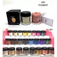 Wholesale glitter eyeshadow name for sale - Group buy NEW g Pigment Eyeshadow Mineralize Eye Shadow With English Colors Name colors Color Random Mixed