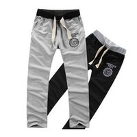 Wholesale Men Loungewear Pants - Wholesale-2015 New Men Casual Pants  loose male trousers Loungewear and nightwear Black&Gray,Plus size M-XXL