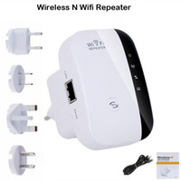 Wholesale Wireless N Wifi Repeater N B G Network Router Range Mbps Signal Antennas Booster Extend wifi Extend Amplifier EU US AU UK Plug