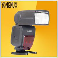 Wholesale Yongnuo Hss Flash - YONGNUO YN660 Wireless Flash Light GN66 2.4Ghz Radio Master Speedlite HSS 1 8000s Slave for Canon Nikon Pentax Olympus Digital DSLR cameras