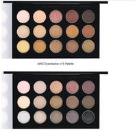 Wholesale Earth Warms - M Brand warm cool neutral Eyeshadow * 15 Palette Earth color A16,A35,E36 color makeup palettes eye makeup colors