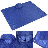 Wholesale Multifunction Triple Backpack Climbing Raincoat Poncho Mats Tent Canopy Home Bathroom Mats
