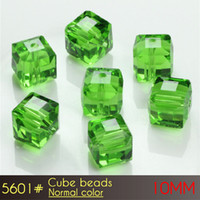 Glass sports trading - Cube Beads mm Normal color A5601 set Square Beads Jewelry Beads from Xulin Trade co ltd