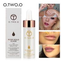 ingrosso fondazione primer labbra-.TWO.O 24K Gold Vitamin Oil per Face Lip Make Up Idratante Anti-aging per tutti i tipi di pelle Foundation Makeup Base Primer DHL Free
