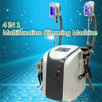 Wholesale Shape Care Vacuum Machine - 4-1 Cavitation Vacuum Fat Removal fat freezing machine six polar RF Skin Care 650nm Diode Lipo Laser Body Shaping Slimming Machine