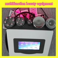 Wholesale Ultrasonic Cavitation Slimming System - CE ultrasonic cavitation machine slimming rf face lift system radio frequency rf facial Ultrasonic liposuction cellulite removal machine