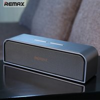 Wholesale Iphone Ring Mp3 - REMAX M9 wireless Aluminum alloy HIFI double ring winding hi-fi speaker for smartphone and Iphone with Wholesale price