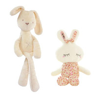 Wholesale Cute Teddy Bear Sale - Hot Sale Cute Baby Kids Animal White Rabbit Sleeping Comfort Doll Plush Toy baby small Soft stuffed Brinquedos for Kids Gift