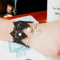 Wholesale Rope Lace Bracelet - Ou Mu Tu sun descendants lace bracelet snowflake pendant creative simple lady jewelry