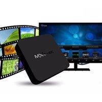 android tv box miracast groihandel-Android 6.0 Fernsehkasten MXQ 4K Viererkabel-Kern KD17.1 8G / 1G Amlogic Smart Fernsehkastenunterstützung WIFI 3D Hardware-Dekodierung WIFI Miracast