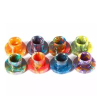 Wholesale Free Bear Pattern - Hot Sale Epoxy Resin Cleito 120 Drip Tips Wide Bore drip tips For Cleito 120 Atomizer Tank Serpentine Pattern Mouthpieces DHL Free
