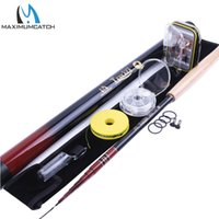 Wholesale telescoping rods - Wholesale- 12FT Telescoping Tenkara Rod Combo Fly Rod Fishing Pole & Line & Flies & Tippet