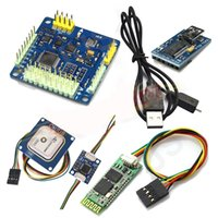 Wholesale Multiwii Gps - MWC MultiWii SE V2.6 Flight Controller & GPS Bluetooth Module Combo for 3D Fly