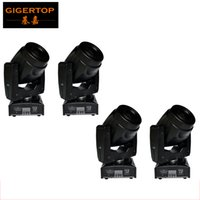 Wholesale Moving Light Gobos - Freeshipping 4 Unit 60W LED Moving Head light with 5 gobos White Rainbow Effect DJ Entertainment Light 13 Degree Beam Angle