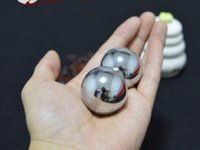 Wholesale Play Health - Wang blacksmith baoding iron ball 35mm hollow ring tone health care ball to play the ladies' little iron ball