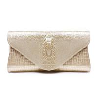 Wholesale Genuine Leather Evening Purse - 2017 Women Genuine leather clutch bags shoulder handbags Sac a main evening designer bolsos mujer bolsas feminina obag purses