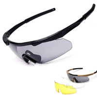 ess lentilles arbalètes achat en gros de-3 lentille ESS Crossbow lunettes Sports US lunettes tactiques tactiques lunettes de tir balistique à l'extérieur Lunettes de soleil