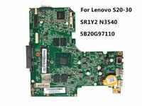 Wholesale coaxial s video - High Quality Laptop Motherboard Fit For Lenovo S20-30 PN 5B20G97110 CPU SR1YW N3540 100% Fully Tested&Testing Video Support