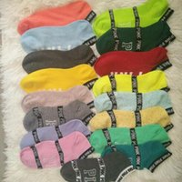 Pink Letter Socks Pink Anklet Cotton Sports Chaussettes Fashion Campus Chaussettes Slipper Girl Sexy Summer Ship Chaussettes 2pcs / paire CCA7452 120pair