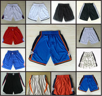 Polyester sportswear los angeles - Los Angeles Basketball Shorts Men s Clippers Shorts Sweatpants Teams Classic Sportswear SPURS With Logo Boston Basketball Pant Free Shippin