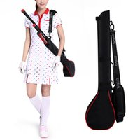 Wholesale Golf Clubs For Women - Hot Selling Golf Gun Bags Outdoor Practice Training Bag Packed 3 Clubs Portable Golf Bag Bolsas for Women and Women MD0241