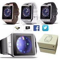 Bluetooth Smart Watch DZ09 Smartwatch android Unterstützung SIM-Karte Smart-Uhren U8 für iPhone Samsung Note 2 3 Android-Handy-Uhr