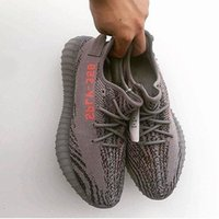 Wholesale Shoes Color Red - Beluga 2.0 SPLY-350 Boost V2 Beluga2.0 Boost 350 V2 SPLY Running shoes Gray Zebra Bred Triple White Black 13 Color