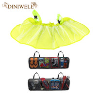 Wholesale Hang Interior Doors - Wholesale- DINIWELL Car Trunk Organizer Interior Removable Storage Mesh Backseat-Multipurpose and Foldable Five Pocket Cargo Net Organizers